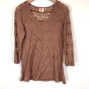 Anthropologie Lilka lace top